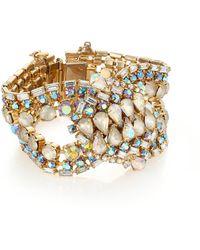 House of Lavande - 1950s Vintage Faceted Bracelet - Lyst