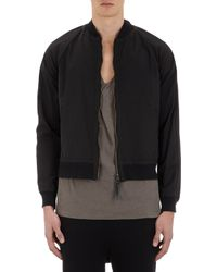 Robert Geller - Graphic-Stripe Patch Bomber - Lyst