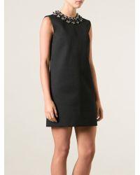 DSquared2 Black Embellishment Dress - Lyst
