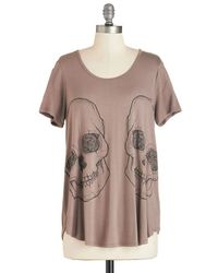 Mezzanine Put Our Heads Together Tee - Lyst