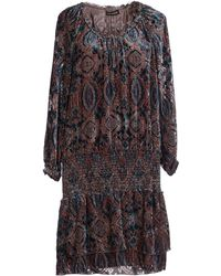 Antik Batik Short Dress multicolor - Lyst
