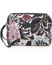 Topshop Floral Make Up Bag  Pink - Lyst