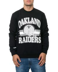 Mitchell & Ness The Oakland Raiders Helmet Sweatshirt - Lyst
