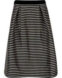 Ted Baker | Piery Striped Full Skirt | Lyst