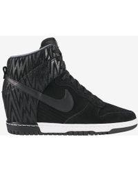 Nike Dunk Sky Hi Ikat Print - Black