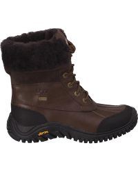Ugg | Adirondack Ii Snow Boot Brown Leather | Lyst