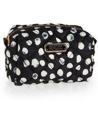 Marc By Marc Jacobs Crosby Quilted Polka-Dot Cosmetic Bag - Lyst