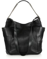 Jimmy Choo Anna Shoulder Bag - Lyst