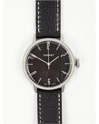 Tsovet Black Silver Svt-Cn38 Watch - Lyst
