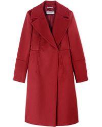 Sportmax Coat red - Lyst