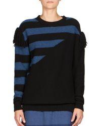 Sonia Rykiel   Cashmere Striped Sweater   Lyst