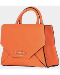 """Givenchy   Orange Leather Small """"obsedia""""bag   Lyst"""