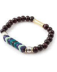Vanessa Mooney Fawn Bracelet purple - Lyst