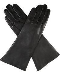 Dents Leather Cashmere-Lined Gloves - For Women - Lyst