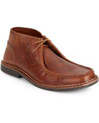 Steve Madden Handler Leather Chukka Boots - Lyst