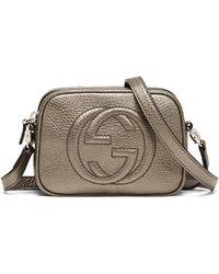 Gucci Girls Soho Leather Messenger Bag - Lyst