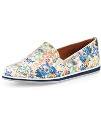 Rebecca Minkoff Sable Floral-print Canvas Sneaker - Lyst