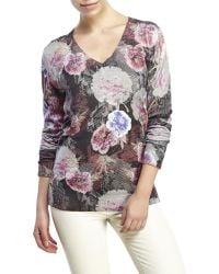Robert Graham - Adaire Printed Sweater - Lyst