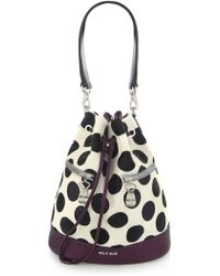 House of Holland - The Bucket Purple & Polka Dots - Lyst