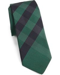 Burberry London Check Textured Silk Tie - Lyst