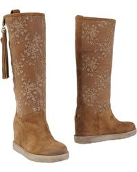 Twin Set Boots - Brown