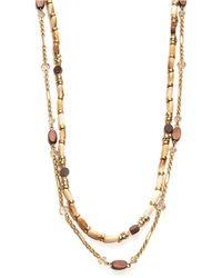 Lauren by Ralph Lauren - Two-Row Opera-Length Necklace - Lyst