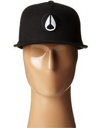 Nixon Rockwell Snap Back Hat - Lyst