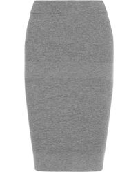 Reed Krakoff Cashmere Wool and Silkblend Pencil Skirt - Lyst