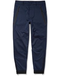 Nike White Label Stretch Cotton and Wool-blend Sweat Pants - Lyst