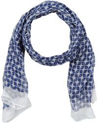 Tombolini Oblong Scarf - Blue
