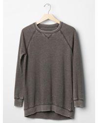 Gap Faded Tunic Sweatshirt - Lyst