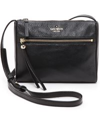 Kate Spade Cayli Cross Body Bag  Black - Lyst