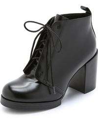 Cheap Monday Layer Booties - Black - Lyst