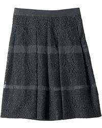 Rebecca Taylor Lace Full Skirt - Lyst
