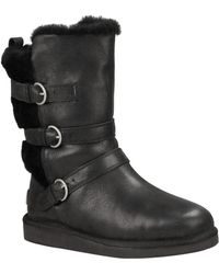 Ugg Becket Water Resistant Leather Boots - Lyst