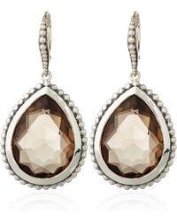 Stephen Dweck - Smoky Quartz Pear Drop Earrings - Lyst
