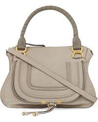Chloé Marcie Medium Leather Cross-Body Bag - For Women - Lyst