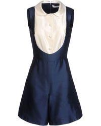 Blugirl Blumarine Short Jumpsuit - Lyst