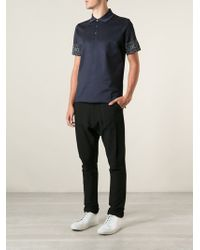 Kenzo Embroidered Polo Shirt - Lyst
