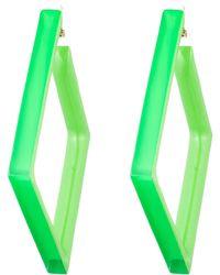 Alexis Bittar | Ab X Jeremy Scott Angled Hoop Clip Earring | Lyst