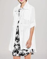 Vince Camuto - Hooded Anorak - Lyst