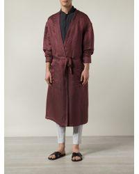 Haider Ackermann Athenaes Robe - Red