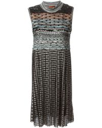 Missoni Zig Zag Pattern Dress - Lyst