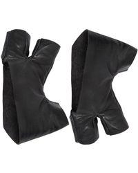 Julius - Leather 3 Finger Gloves - Lyst