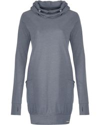 Bench - Noated Cowl Neck Jersey Dress - Lyst