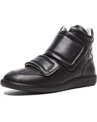 Maison Margiela Men'S Clinic Leather High Tops - Lyst