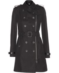 Burberry Brit - Anthorn Cotton Trench Coat - Lyst