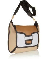 Pierre Hardy Color-Block Leather Shoulder Bag - Lyst