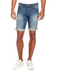 Boss Orange Orange24 Havana  Regular Fit 875 Oz Cotton Jean Shorts - Lyst