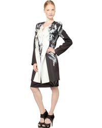 Gaowei+Xinzhan - Floral Print Straight Coat - Lyst